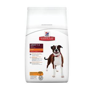 Корм для собак, склонных к лишнему весу Hill's SP Canine Adult Light с курицей