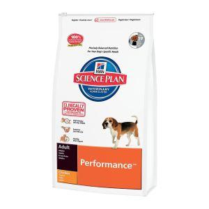 Корм для активных, охотничьих, рабочих собак Hill's SP Canine Adult Performance с курицей