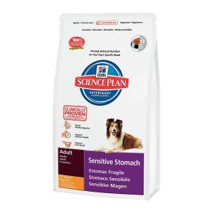 Корм для собак с чувствительным пищеварением Hill's SP Canine Adult Sensitive Stomach с курицей