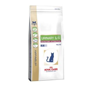 Лечебный сухой корм для кошек при заболеваниях нижнего отдела мочевыделительной системы Royal Canin URINARY S/O FELINE OLFACTORY ATTRACTION