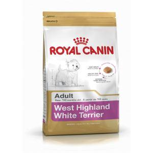 Сухой корм для собак породы Вест хайленд уайт терьер Royal Canin WESTIE ADULT (старше 10 месяцев)