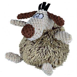 Игрушка для собак Собака лохматая Trixie плюш/ткань 15 см.