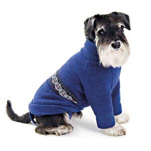 "Свитер для собак Pet Fashion ""Джастин"" вишневый,синий 2018"