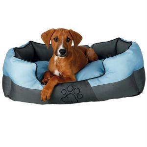 """Лежак для собак """"Patty"""" Trixie серый/голубой полиэстер"""
