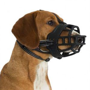 """Намордник для собак """"Muzzle Flex"""" Trixie черный, силиконовый"""