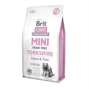 Корм для йоркширских терьеров и для собак миниатюрных пород Brit Care GF Mini Yorkshire Salmon & Tuna