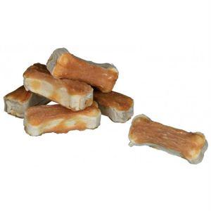 Лакомство для собак – Кость прессованная для чистки зубов с курицей DENTAfun Trixie 120 гр./5 см. (8 шт.)