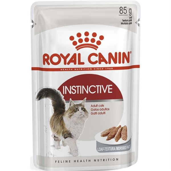 Влажный корм для кошек старше 1 года Royal Canin INSTINCTIVE wet in loaf паштет 85 гр.