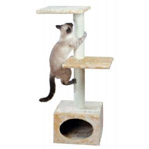 """Дряпка для кошек с домиком """"Badalona"""" Trixie бежевая 109 см."""