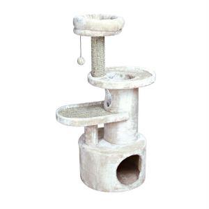 """Дряпка для кошек """"Alessio"""" Trixie светло-серая 111 см."""