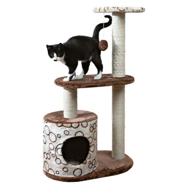 "Дряпка для кошек ""Cаsta"" Trixie коричневая/бежевая 95 см."