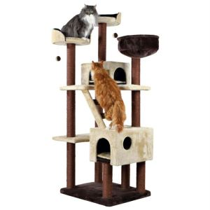"""Дряпка для кошек """"Felicitas"""" Trixie коричневая/бежевая 190 см."""