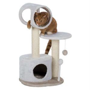 """Дряпка для кошек """"Lucia"""" Trixie белая/серая 75 см."""