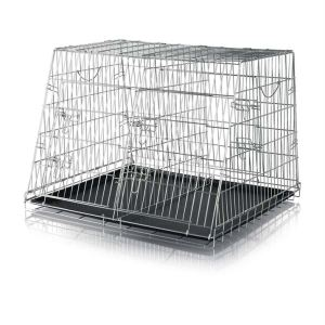 Клетка металлическая двойная Trixie 90 x 64 x 79 см.