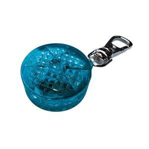 Брелок-фонарик c карабином Trixie пластик, синий 3,5 см.