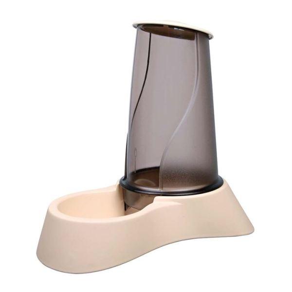 Миска автоматическая для собак и кошек с дозатором для корма Trixie пластиковая 1,5 л.; 3,5 л.