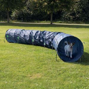 Рукав (тоннель) для аджилити Trixie жесткий синий 5 м., d=60 см. полиэстер