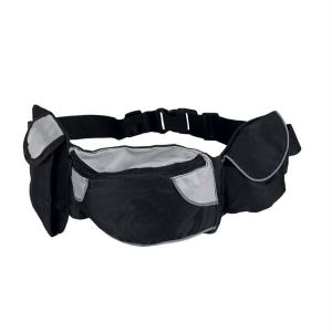 """Сумка на пояс для дрессировки собак (для лакомств) """"Baggy Belt"""" Trixie 62-125 см. нейлон"""