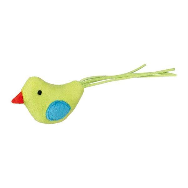 Игрушка для кошек Птичка Trixie плюш/флис 7 см.