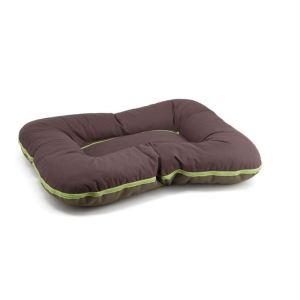 """Лежак для собак двусторонний """"Arnold"""" Comfy L, XL, XXL, XXXL коричневый/оливковый"""