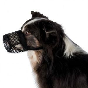Намордник для собак для защиты от ядов Trixie черный, полиэстер