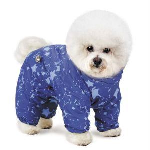 "Комбинезон для собак Pet Fashion ""Норд"" лиловый, синий 2018"