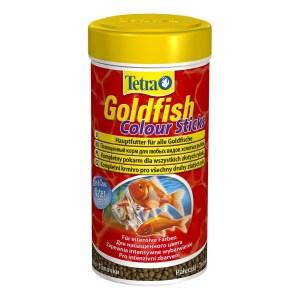 Сухой корм для аквариумных рыб в палочках Tetra Gold fish COLOUR Sticks (для золотых рыбок) 100 мл.; 250 мл.