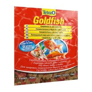 Сухой корм для аквариумных рыб в хлопьях Tetra Gold fish (для золотых рыбок) 10/12 гр.