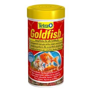 Сухой корм для аквариумных рыб в хлопьях Tetra Gold fish (для золотых рыбок) 100 мл.; 250 мл.; 1 л.; 10 л.