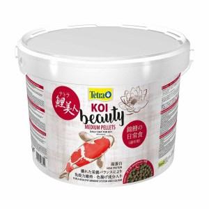 Сухой корм для прудовых рыб в гранулах Tetra KOI Beauty Medium (для карпов кои) 4 л.; 10 л.