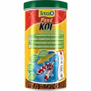 Сухой корм для прудовых рыб в гранулах Tetra POND KOI Mini Sticks (для мальков карпов кои) 1 л.