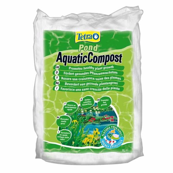 Удобрения для растений Tetra Pond Aquatic Compost 8 л.