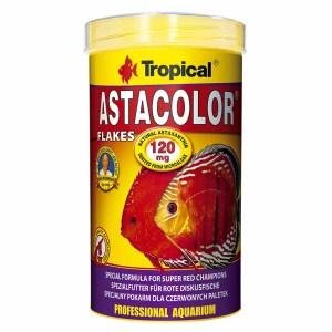 Сухой корм для аквариумных рыб в хлопьях Tropical Astacolor (для дискусов) 5 л.