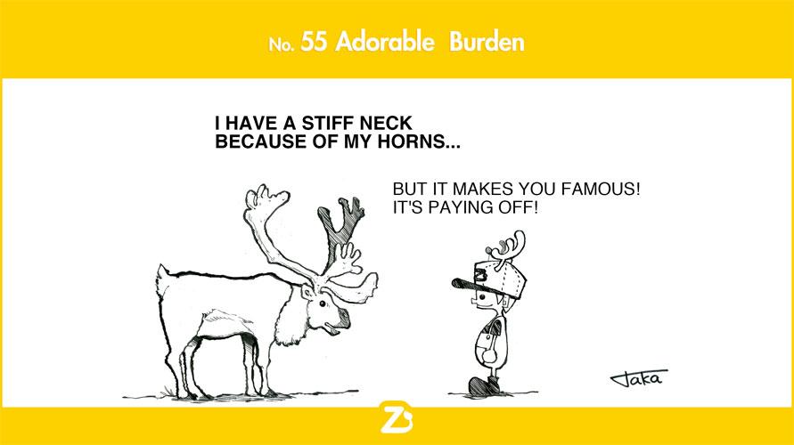 No. 55 Adorable Burden/ 愛おしいやっかいもの