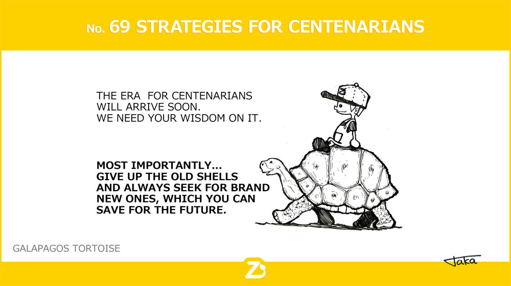 No. 69 STRATEGIES FOR CENTENARIANS/ 100年時代の考え方