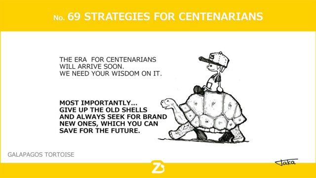 STRATEGIES FOR CENTENARIANS