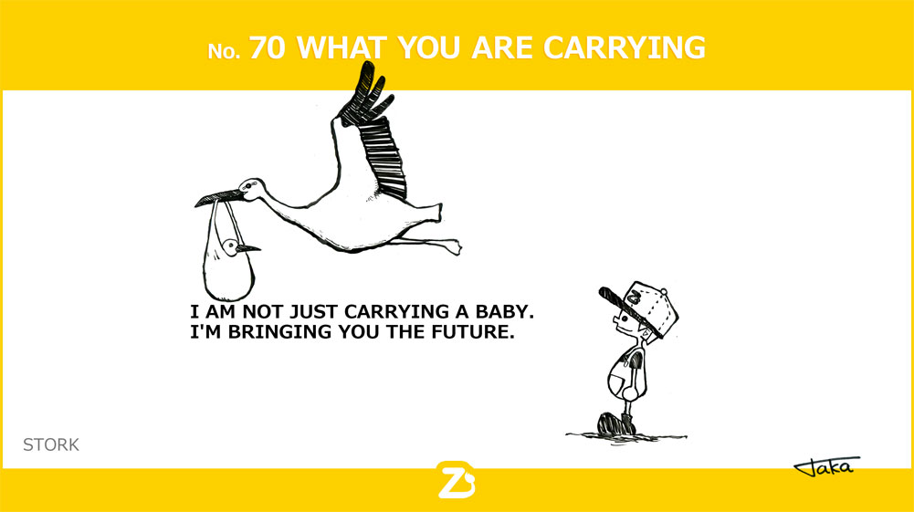 No. 70 WHAT YOU ARE CARRYING/ 運んでるもの