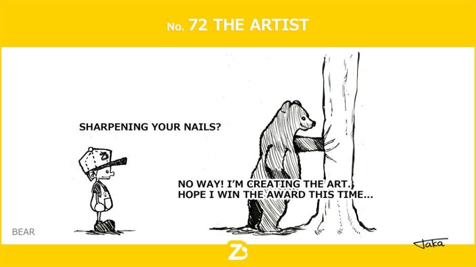 No. 72 The Artist/ アーティスト
