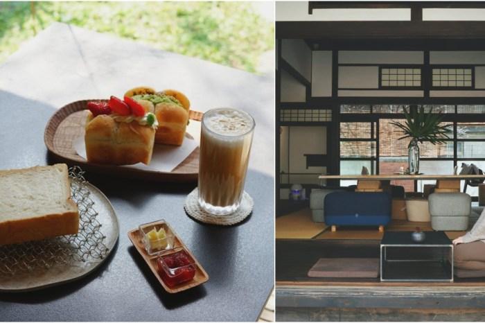 新竹早午餐 咖啡館 李克承博士故居 A-moom 生吐司香柔軟綿・日治時代建築,品味美食與歷史的溫度。