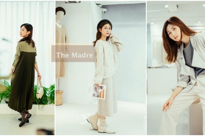 新竹服飾推薦:The Madre 從女孩到女人,陪伴我們一起優雅自信。