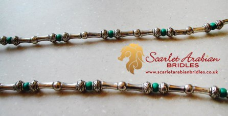 photo - Scarlet Arabian Bridles