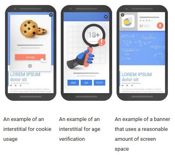 mobile-friendly pop-ups