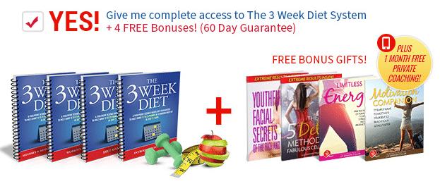 4 weeks diet plan