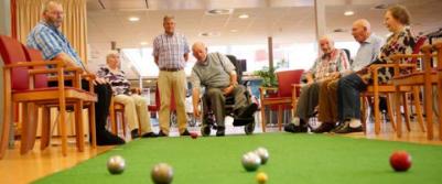 jeu de boules bij Marente ouderenzorg