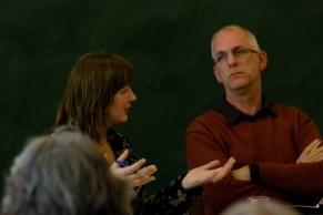 dr. Lia van Doorn en prof. dr. Andries Baart