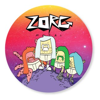Zorg Metal Band Sticker