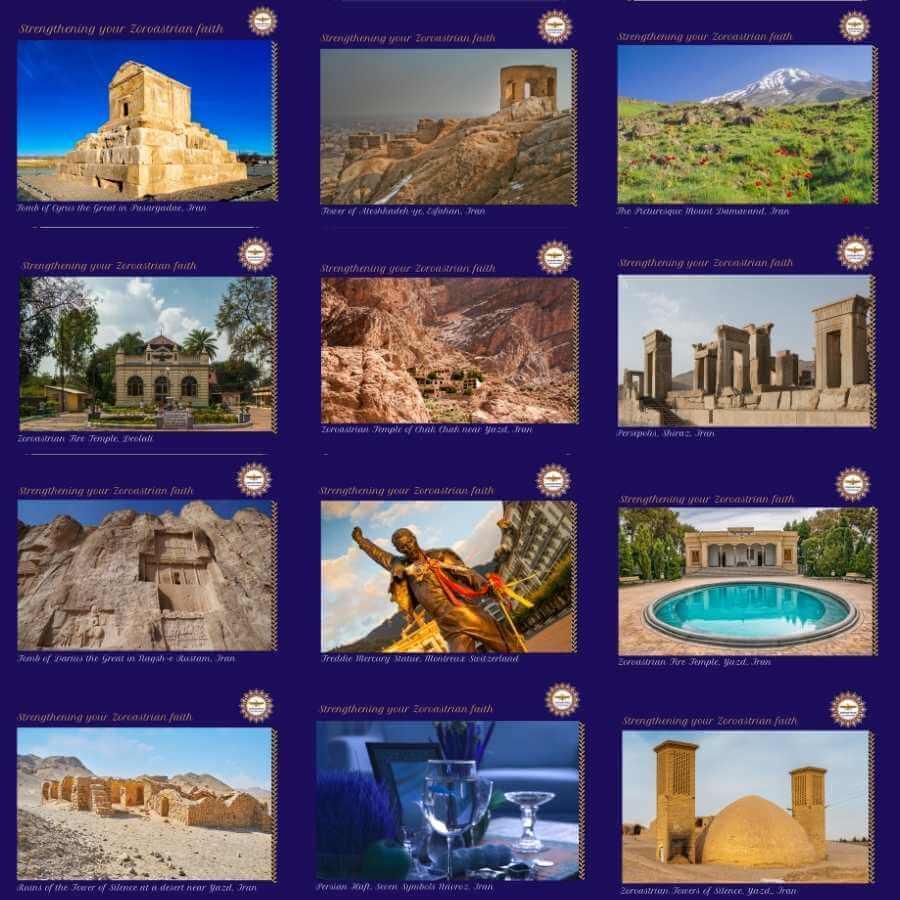 Zoroastrian Calendar 2021 1