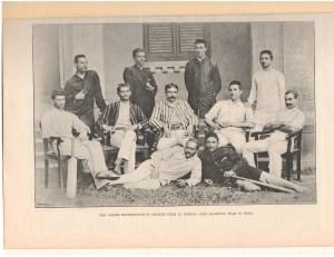 Parsi Cricket Team 1890