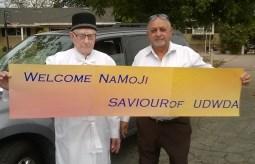 Welcome NaMoji banner