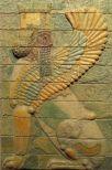 Bevingad sfinx. Dareios palats i Susa, Iran - Foto Ashk Dahlén